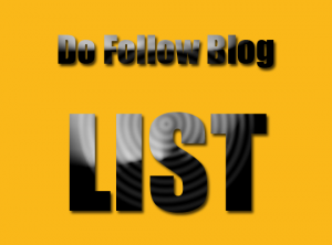 Do-Follow-Blog-List